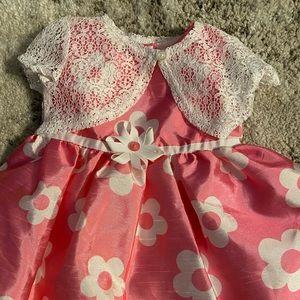 New pink dress 6-9 months